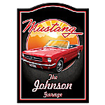1964 Ford Mustang Personalized Welcome Sign