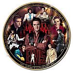Elvis Presley 80th Anniversary Masterpiece Commemorative Collector Plate