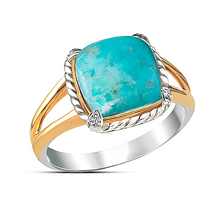 Turquoise Splendor Gemstone Ring