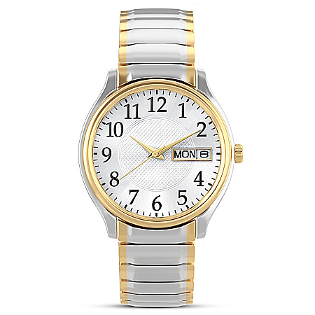Classic Daytimer Personalized Men's Dress Watch – Personalized Jewelry