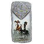 Spirit Of The Wild Western Style Wall Clock