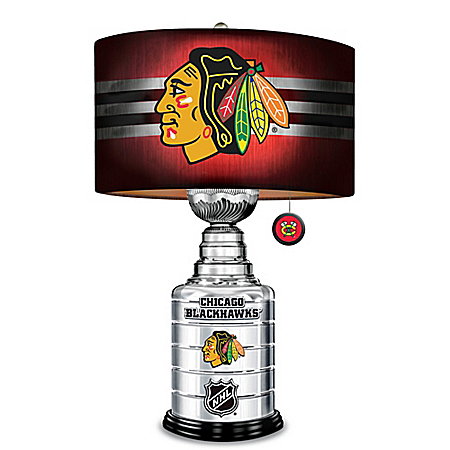 Chicago Blackhawks Stanley Cup Table Lamp