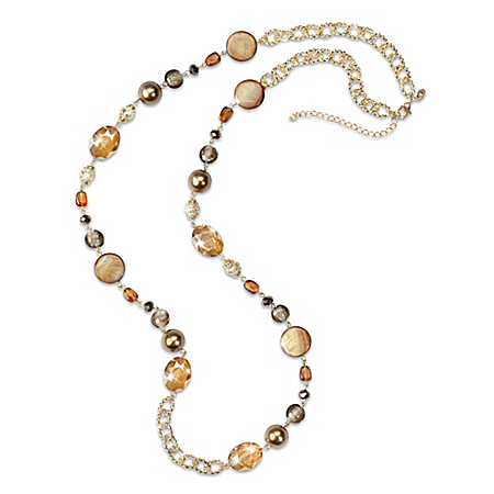 Autumn Air Women's Beaded Necklace
