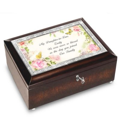 Bradford Exchange My Daughter-In-Law, We Were Never So Blessed Personalized