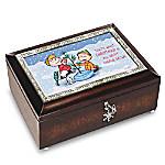 A Charlie Brown Christmas 50th Anniversary PEANUTS Music Box