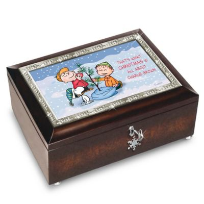 Bradford Exchange A Charlie Brown Christmas 50th Anniversary PEANUTS
