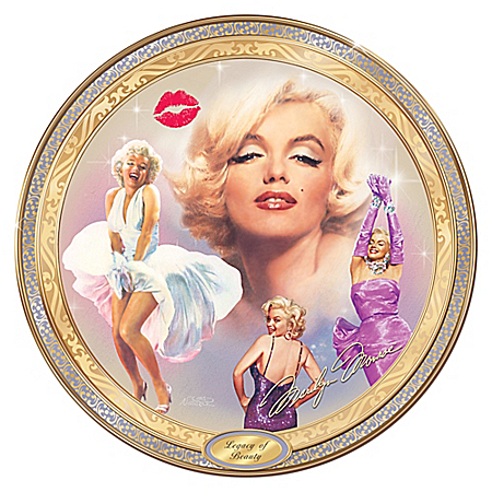 Marilyn Monroe: Legacy Of Beauty Limited-Edition Collector Plate