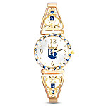 My Royals Women's Gold-Tone Plated Watch