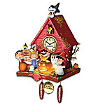 PEANUTS Snoopy Halloween Party Cuckoo Clock