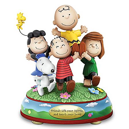 Peanuts Gang Figurine - Friendship Is Happiness