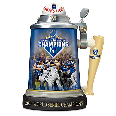 Kansas City Royals 2015 World Series Stein