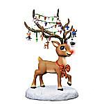 Rudolph The Red-Nosed Reindeer Illuminating Figurine