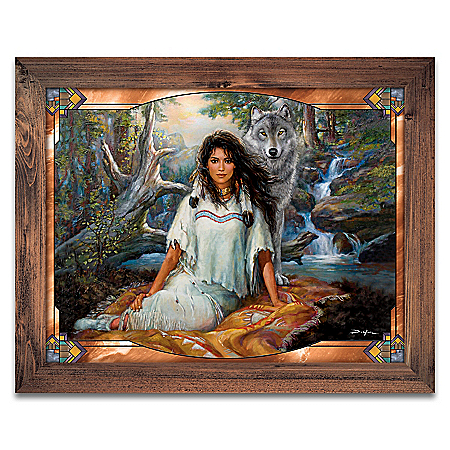 Russ Docken The Spirit Companions Illuminating Wall Decor