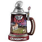 University Of Alabama Crimson Tide 30-Ounce Drink-Safe Porcelain Stein
