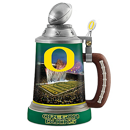 University Of Oregon Ducks 30-Ounce Drink-Safe Porcelain Stein