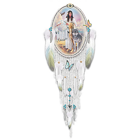 Russ Docken Native American-Inspired Peace Dreamcatcher Wall Decor