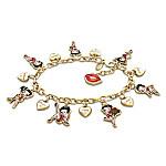 Charming Appeal Betty Boop Charm Bracelet