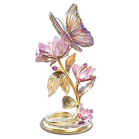 Glimmering Gardens Butterfly Illuminated Sculpture
