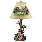 Linda Picken Backyard Buddies Dog Lamp
