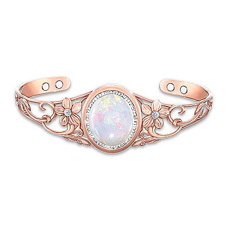 Serenity Copper Healing Cuff Bracelet