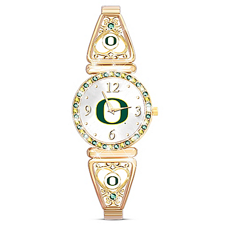 My University Of Oregon Ducks Women's Stretch Watch