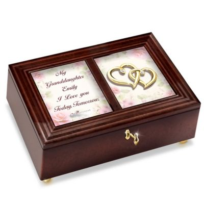 Bradford Exchange My Granddaughter, I Love You Personalized