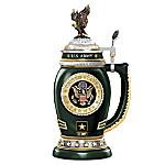 U.S. Army Values Porcelain Stein