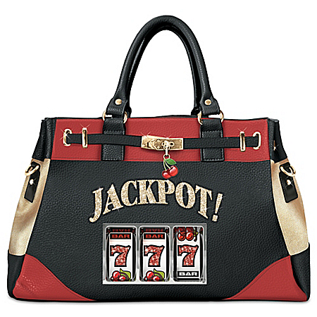 Hit The Jackpot Slot Machine Handbag