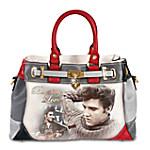 Burning Love Elvis Presley Handbag