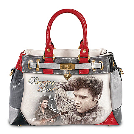 Burning Love Elvis Presley Handbag