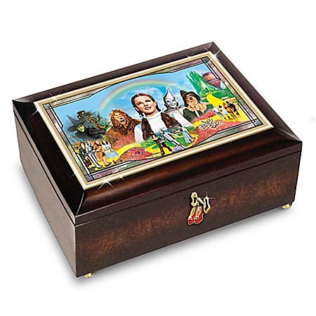THE WIZARD OF OZ Illuminated Heirloom Music Box