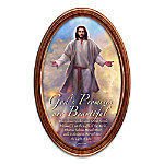 God's Promises Are Beautiful Inspirational Collector Plate