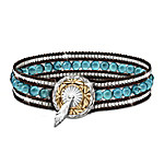 Turquoise River Native American Style Bracelet