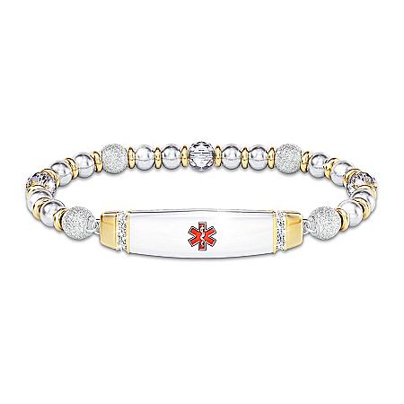 Medical Alert Prescription Personalized Women's Bracelet – Personalized Jewelry