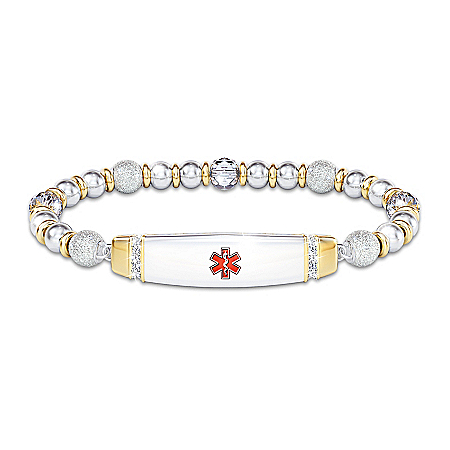Medical Alert Prescription Personalized Women's Bracelet – Personalized Jewelry