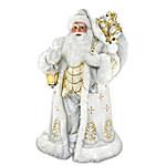 Winter Elegance Personalized Masterpiece Santa Sculpture