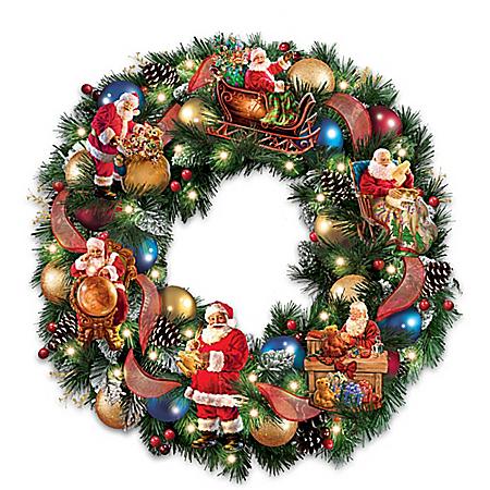 Christmas Ornaments ////Garlands Christmas Vine Circle Wreath Snowman ZQZ Christmas Wreath Family of Three
