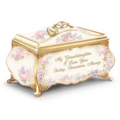 Bradford Exchange My Granddaughter, I Love You Personalized Heirloom Porcelain