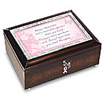 Breast Cancer Awareness Always Remember You're Courageous Music Box