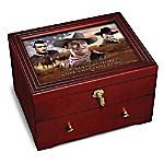 John Wayne - Legend Wooden Keepsake Box