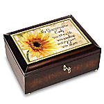 My Granddaughter, You Fill My Life With Sunshine Personalized Music Box