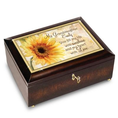 Bradford Exchange My Granddaughter, You Fill My Life With Sunshine Personalized
