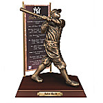 BABE RUTH New York Yankees Cold-Cast Bronze Sculpture