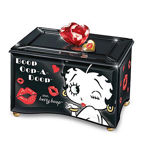 Boop-Oop-A-Doop Betty Boop Mirrored Music Box