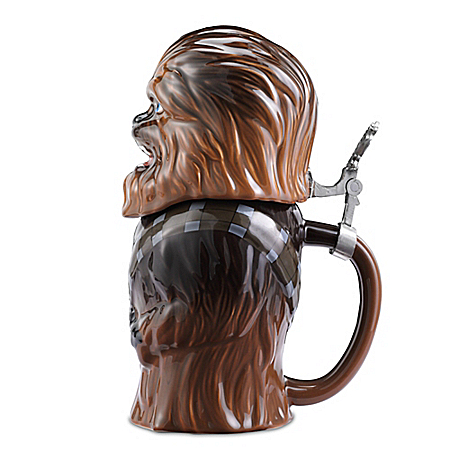 Star Wars Chewbacca Ceramic Stein 32 Ounce
