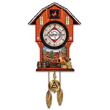 Allis-Chalmers Farm Cuckoo Clock