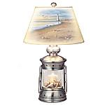 Coastal Treasures Lantern Table Lamp