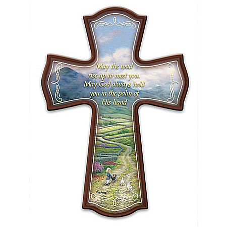 Irish Blessings Cross Wall Decor
