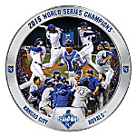 2015 World Series Kansas City Royals Commemorative Collector Plate