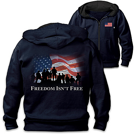 Freedom Isn't Free Men's Knit Hoodie